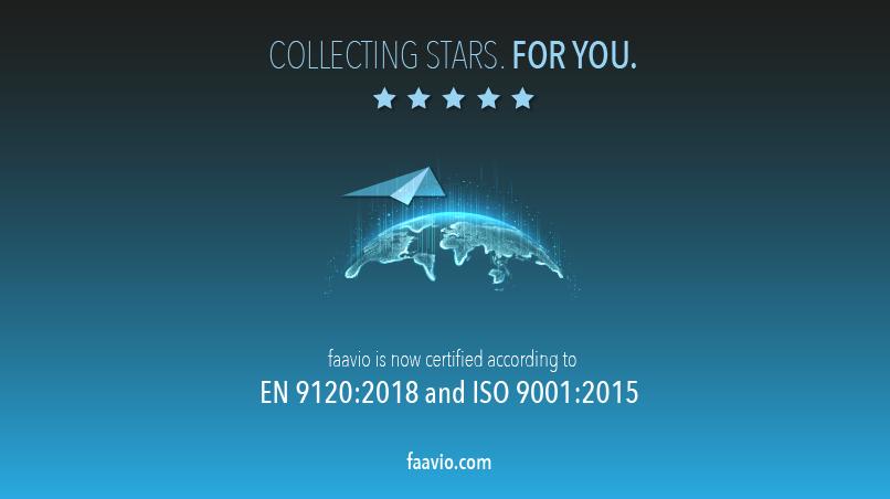 faavio – certification EN / ISO